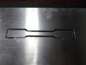lavorazione metallo con pantografo