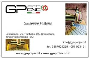 biglietto da visita solo gpprotocnc