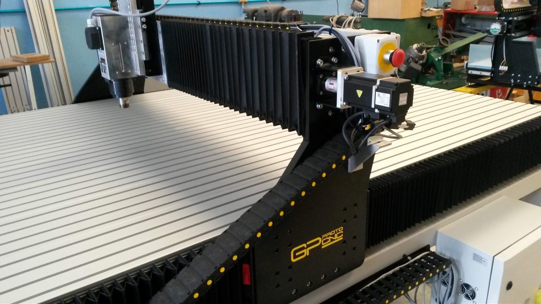 Pantografo CNC GP protoCNC modello GP020